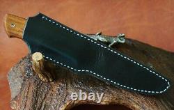 G. Dedyukhin The Real Hunting Knife Universal M390 Handmade Bark River Style