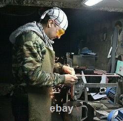 G. Dedyukhin fixed blade Hunting Beaver Tail M390 Custom Bark River Knives Sty