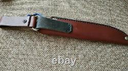 G. Dedyukhin fixed hunting custom knife Raden M390 Handmade in Bark River Style
