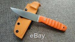 G. Dedyukhin fixed hunting knife Beast CPM-3V Handmade in Bark River Style
