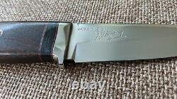 G. Dedyukhin fixed hunting knife Ethno M390 Handmade in Bark River Style