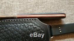 G. Dedyukhin fixed hunting knife Messon CPM-3V Handmade in Bark River Style
