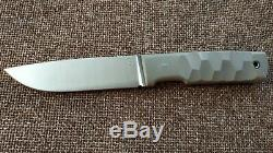G. Dedyukhin fixed hunting knife Tommy M390 Handmade in Bark River Style