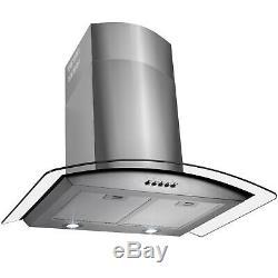 Golden Vantage 30 Stainless Steel Powerful Push Panel Mesh Filter Range Hood-Y