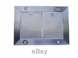HOT Stainless Steel 30 Kitchen Island Range Hood Vent Fan 3 Speed Push Button