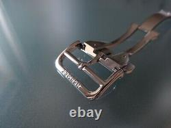 Hermes OEM Genuine Stainless Steel push buttons Deployment buckle 19mm