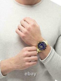 Invicta Men's Unisex Pro Diver Gold Blue Dial 200M Sports Watch 8937 Authentic