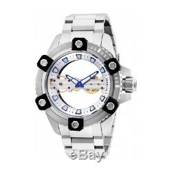 Invicta Reserve Stainless Steel Band Metal Silver Dial Men's Watch 26485