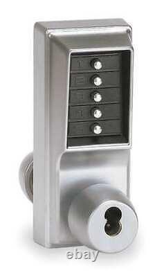 Kaba 1021-B-26D-41 Push Button Lock, Entry, Key Override