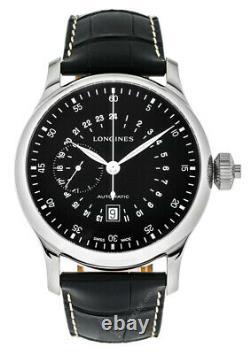 LONGINES 24-Hr Single Push-Piece CHRONO 47.5MM AUTO SS Watch L27974530