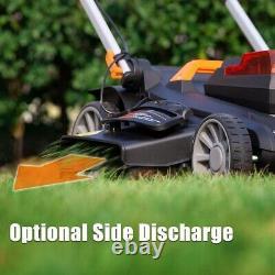 LawnMaster Cordless 19-Inch Brushless Push Lawn Mower 60V, 4.0Ah Battery