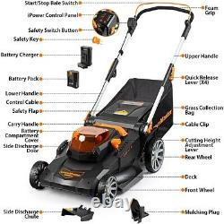 LawnMaster Cordless Brushless Push Lawn Mower 60V Max Lithium-Ion 21-Inch
