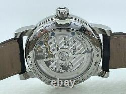 MONTBLANC Nicolas Rieussec One Push Chronograph 7138 Automatic GMT 43mm Steel