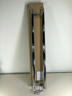 Modern Bar Style Handles, Long Round Steel Push Pull Entrance Door, Radial