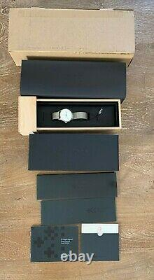 NEW Christopher Ward C1 Grand Malvern Small Second COSC, 5-day In-house Mvmt