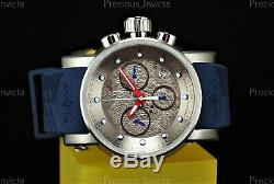 NEW Invicta Men S1 RALLY YAKUZA Quartz 48mm Chronograph Silver Dial & Tone Watch