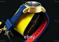 NEW Invicta Men YAKUZA S1 RALLY Quartz 48mm Chrono Gold-Tone Silver Dial Watch