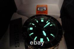 New Seiko Stingray Fifty Five Fathoms FFF 55 Diver Homage Automatic SNZH55J1