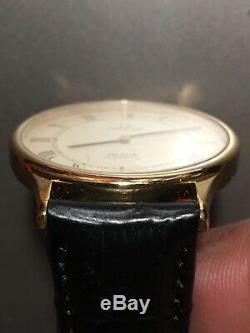 OMEGA De Ville cal. 1365 Push button Quartz Swiss Vintage Mens 32mm