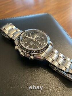 OMEGA Speedmaster Day Date Automatic Chronometer Chronograph Watch NEW Full Set