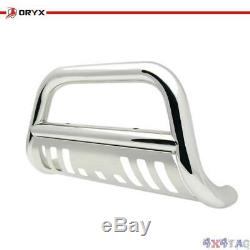 ORYX Chrome Stainless Steel Bull Bar For Chevy/GMC Silverado/Sierra 1500 99-06