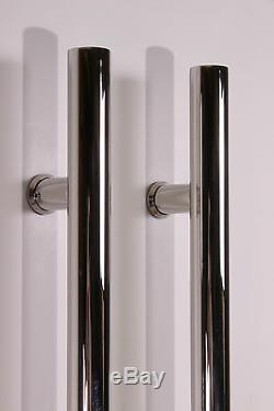 Pull Push 48 Handles, Entrance Entry Front Door, Interior/Exterior, Ladd, Mirror
