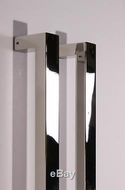 Pull Push 48 Handles for Entrance Entry Front Door, Rectangle, Mirror
