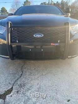 Push Bumper by Pro Gard Push Bumpers for Ford Police Interceptor Tauras
