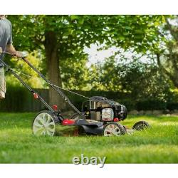Push Mower with TriAction Cutting System Walk Behind Gas High Rear Wheel 21 in