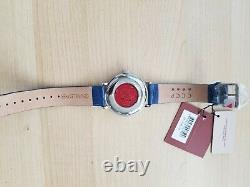 Red Star Mystery Rotating Dial Watch, Jump Hour, Crazy Hour, Cool, Unique, Rare