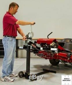 Riding Lawn Mower Lift MoJack PRO 750 Lb Jack Tractors Zero Turn Push Heavy Duty