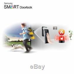 SAMSUNG Keyless Smart Digital Door lock Push&Pull SHS-P510 + 4 keytags Express