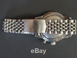 SEIKO 5719-8992 One Push Chronograph DIASHOCK Vintage Manual Men's MIJ SS 1221