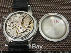 SEIKO Crown One Push Chronograph 45899 Maual Vintage Watch 1964's
