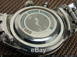 SEIKO Crown One Push Chronograph 5719-8980 Manual Vintage Watch 1964's