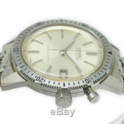 SEIKO One Push Chronograph 3rd Model 5717-8990 Manual Vintage Watch 1964's OH