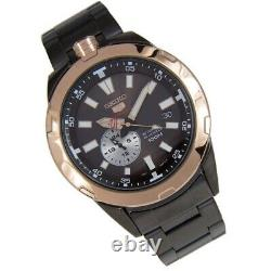 SEIKO Spacewalk SSA174 50th Anniversary Automatic Ion Plated Mens Watch