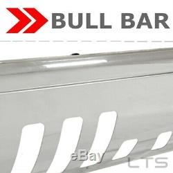 S. S BULL BAR FIT 2008-2010 Ford F-250/350 WithSKID PLATE BRUSH PUSH GRILLE GUARDS