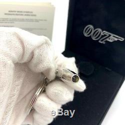 S. T. Dupont Paris James Bond 007 Bullet Keyring with Push Button Lamp