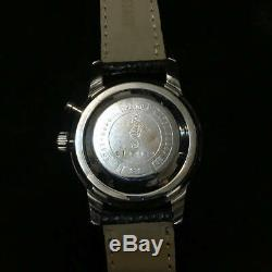Seiko 5717-8990 Vintage Overhaul One Push Chronograph Manual Winding Mens Watch