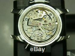 Seiko 5719A Rare 21 Jewels One Push Chronograph Hand Wind Auth Men Watch Works