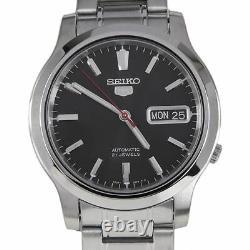 Seiko 5 Mechanical Analog 21 Jewels Mens Dress Watch SNK795 SNK795K SNK795K1