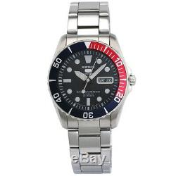 Seiko 5 Sports SNZF15 J1 Blue Dial Stainless Steel Men's Automatic Analog Watch
