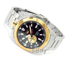 Seiko 5 Sports SSA172 Spacewalk 50th Anniversary Gold Automatic Mens Watch