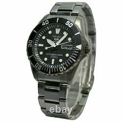 Seiko 5 Urchin SNZF21 Automatic Black Sea Urchin NOS Divers Mens Watch