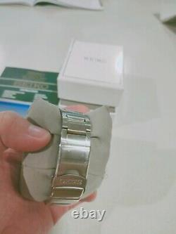Seiko Men's SKA371P1 Kinetic Black Dial Watch with Bracelet