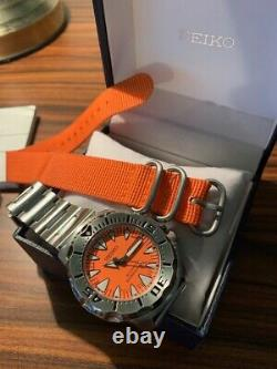 Seiko SRP309-J1 Dive Watch Orange Monster' 2nd Generation, Great Condition