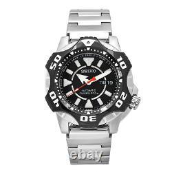 Seiko Starfish SKZ283 Shurikane Automatic Black Mens Divers Watch