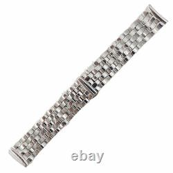 Shinola Stainless Steel 20-18mm Bracelet with Double Push Button Safety