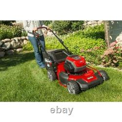 Snapper Push Lawn Mower 21 in. 82V Lithium-Ion Electric Cordless 16-Gauge Steel